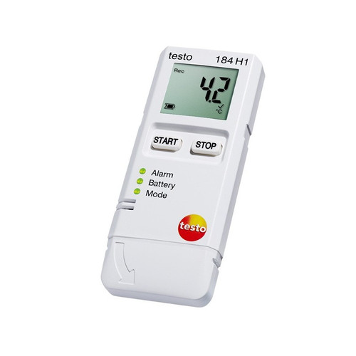 Testo 184 H1 - USB Temperature and Humidity Data Logger