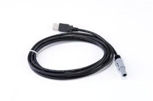 USB lead, for use with any Electrocorder with a circular 4 pin port AND labelled 'USB' or with the USB symbol.