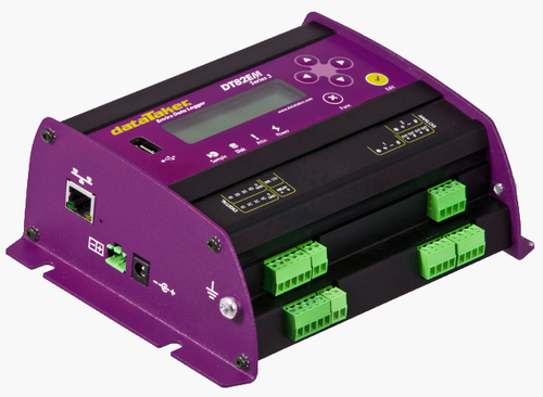 DataTaker DT82EM-S4 data logger with integrated modem.