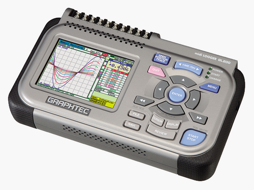 Graphtec GL200 data logger