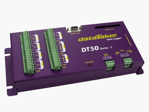 DataTaker DT50 data logger