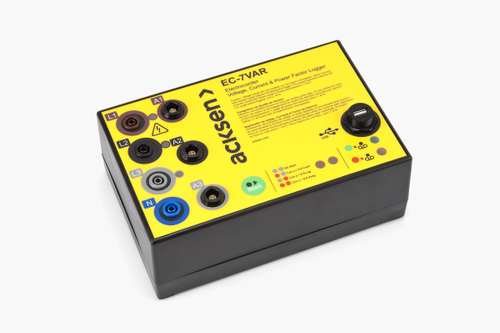 Electrocorder EC-7VAR-RS three phase energy data logger.
