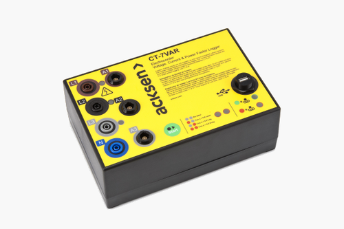 Electrocorder CT-7VAR three phase energy power logger.