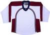 NHL Uncrested Replica Jersey DJ300 - Colorado Avalanche