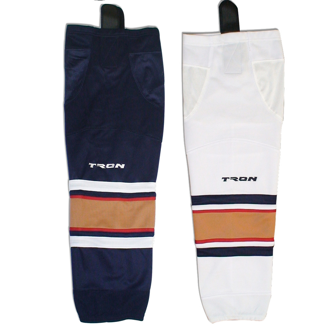 "Hockey Socks Florida Panthers Dry Fit Edge Inspired Colors 24 or 30/""  TRON SK300"