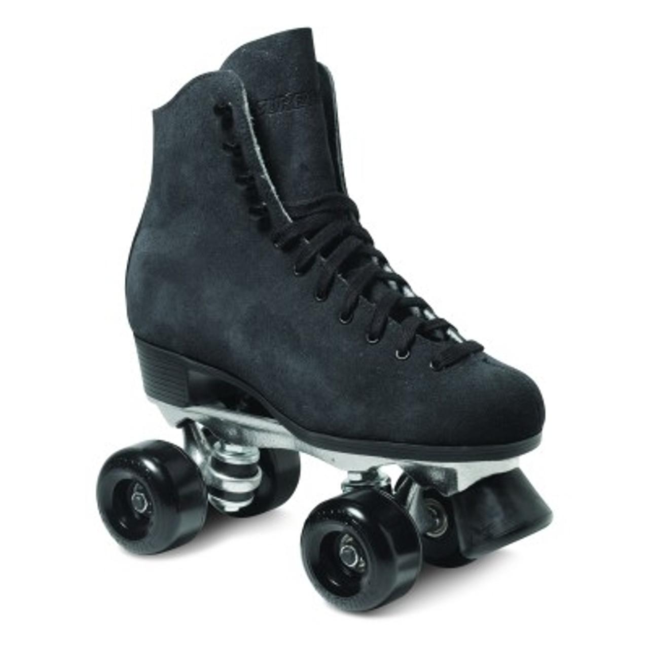 suede roller skate boots