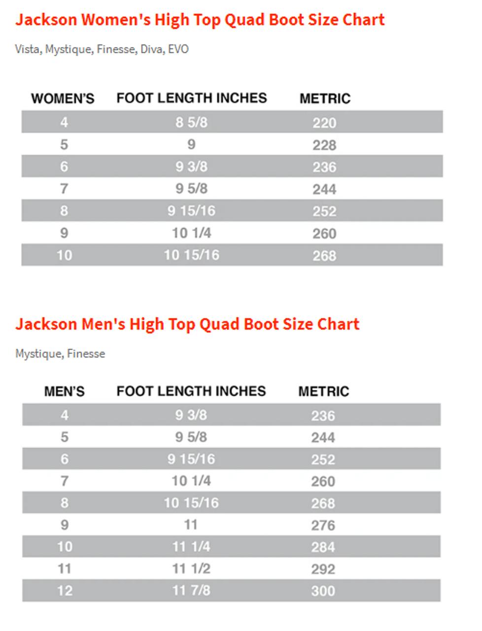 Jackson Finesse Viper Nylon Package Womens JR50