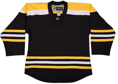 NHL Uncrested Replica Jersey DJ300 - Boston Bruins
