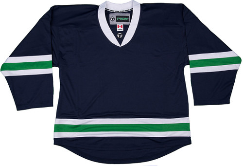 NHL Uncrested Replica Jersey DJ300 - Vancouver Canucks