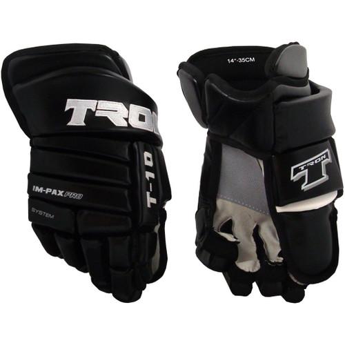 Tron T-10  Leather Gloves - Senior