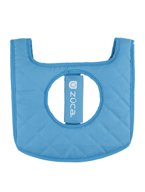 Zuca Black/Blue Seat Cushion