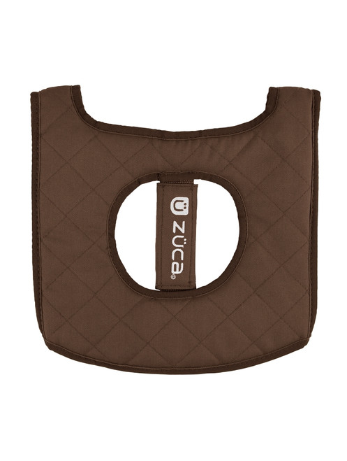 Zuca Turquoise/Brown Seat Cushion