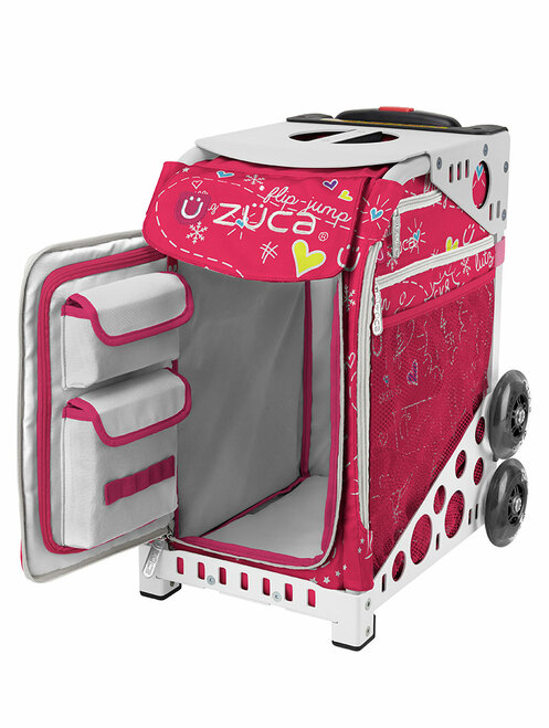 ZUCA WHEELED BAG - INSERT ONLY - PINK SK8