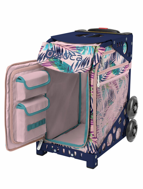 ZUCA WHEELED BAG - INSERT ONLY - Pink Oasis