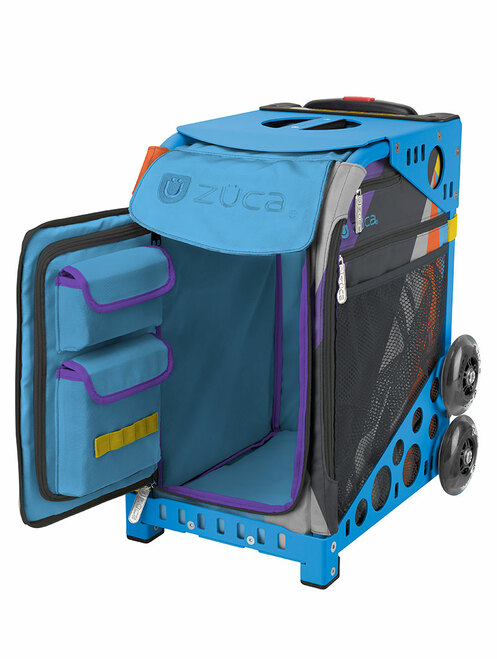 ZUCA WHEELED BAG - INSERT ONLY - Color Block Party