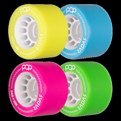 Radar POP Wheels (4 Pack)