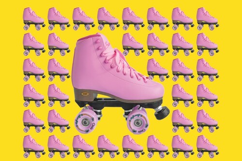 """Sure Grip Fame """"PINK PASSION"""" Outdoor Skate (Limited Edition)"""