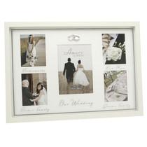 Amore MDF Multi Aperture Photo Frame Bridesmaids, Best Man. .