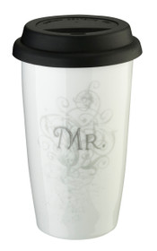 Mr. Ceramic Tumbler 12Oz