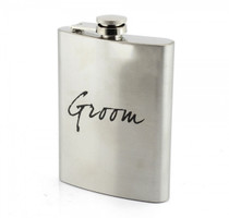 Stainless Steel Hip Flask Groom