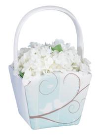 Love Birds Flower Basket