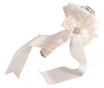 Satin Bouquet Holder Ivory