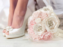 Chic And Shabby Bouquet Blush