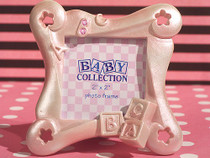 ABC Baby Block Frame Favour.