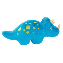 That's How We Rawr Snugglesaurus Blue Plush Dinosaur Triceratops