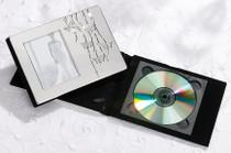 Silver Butterfly CD Holder