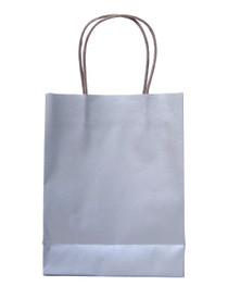 15 x Silver Party Bags with handle