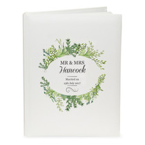 Personalised Fresh Botanical Traditional Album