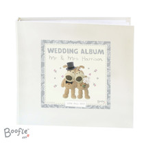Personalised Boofle Wedding Album with Sleeves