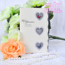 Personalised Hearts & Butterflies Wedding Invitations