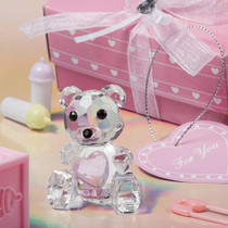 Choice Crystal Collection Teddy Bear Figurines