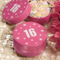 Sweet Sixteen Design Mint Tins