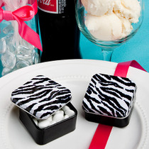 Zebra Stripe Design Mint Tins