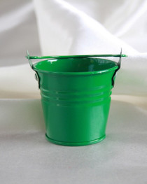"""2"""" Galvanised Pail With Handle Green"""