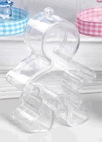 Boy Shaped Plastic Sweet Favour Container
