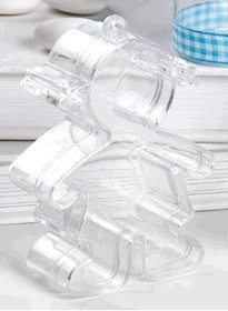 Girl Shaped Plastic Sweet Favour Container