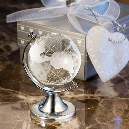 Choice Crystal Globe Favour