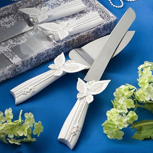 Cake Knife And Server Set