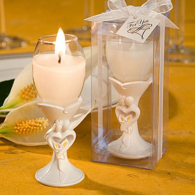 Candle Favours and Holders