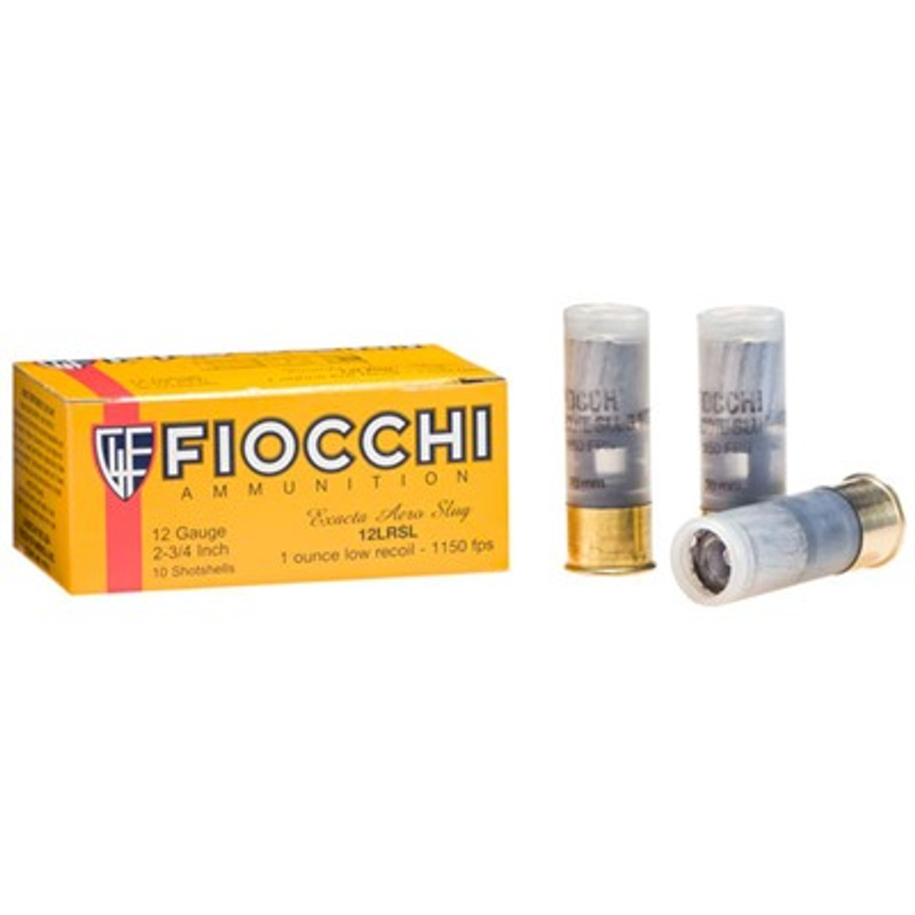 "Fiocchi Low Recoil Ammunition 12GA 2.75"" 1OZ 10 Rounds / box"