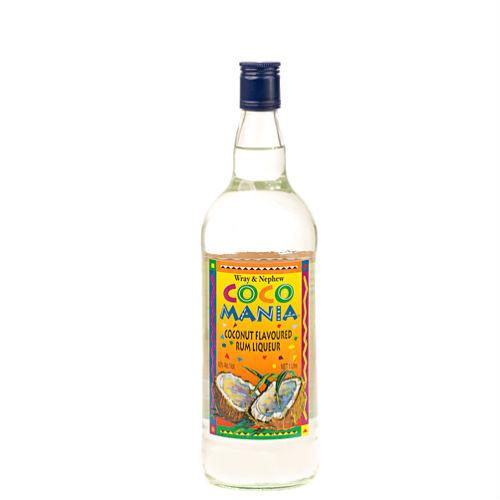 J Wray and Nephew Coco Mania Rum Liqueur- 750ml