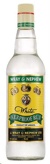 J Wray & Nephew 1 Litre White Overproof Rum