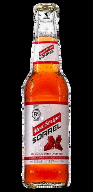 Red Stripe Sorrel Beer (3 glass bottles)