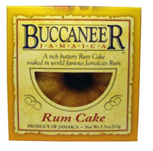5oz Buccaneer Jamaica Rum Cake