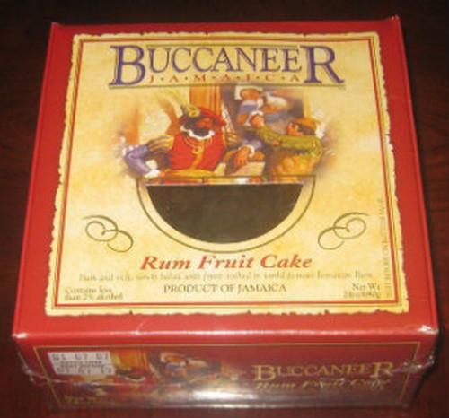 24oz Buccaneer Fruit Rum Cake