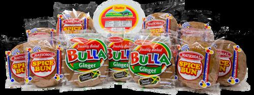 Bun, Bulla and Cheese bundle 10-Penny Bun 1-17oz Tastee Cheese 4-Ginger Bulla